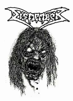 Classick Dismember!! m/ one patch on my vest. In black & red.