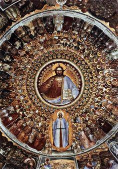 Giusto de' Menabuoi, Cupola del Battistero di Padova, dettaglio, 1375-1378