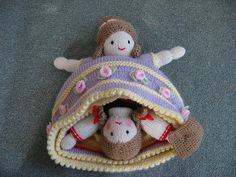 cinderella topsy turvy doll on ravelry. I had one of these when I was a child.