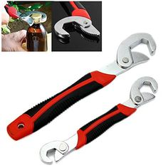 FAMI New 2PC Snap'N Grip 9-32mm Adjustable Wrench Spanner Universal Quick Multi-function #carscampus