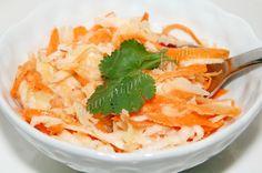 Витаминный салат из корня сельдерея