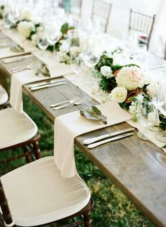 Buffet Tablescape
