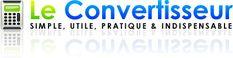 Convertisseur - Utile pour convertir les degrés Fahrenheit en Celsius des recettes anglophones