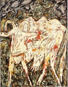 Jean Dubuffet Cow with the Beautiful Muzzle 1954