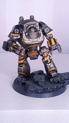 Contemptor, Dreadnought, Horus Heresy, Iron Warriors, Ironwarriors