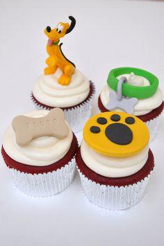 Pluto cupcakes @ The Cake Mamas! :)