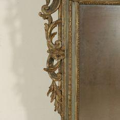 Specchiera in stile Rococò - particolare