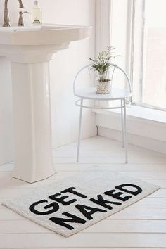 Urban Outfitters Get Naked Bath Mat