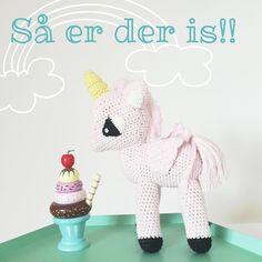 Haps  ☺️ Har I husket at deltage i vores konkurrence om en unicorn fra La De Dah Kids?? Se tidligere billede  #bymoulin #hæklet #unicorn #enhjørning #ladedahkids #is #icecream #sassandbell #trælegetøj #konkurrence #giveaway #børn #børneværelse #indretning #sommer #baby #babyværelse