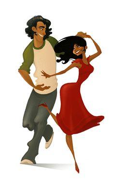 Couple Dancin ' Brittney Lee 465