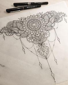 Decorative piece for Tasha #art #design #penandink #handdrawn #sketch #instafineliner #mehndi #mehnditattoo #mandala #mandalatattoo #lineart #tattooart #domholmestattoo #theblacklotusstudio #iblackwork #instaart