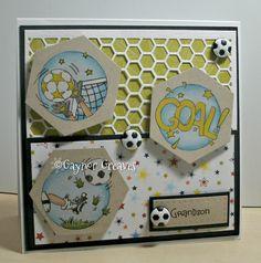 LOTV - Football Trio by Gaynor Greaves