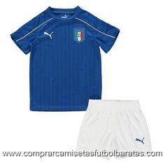 Camisetas niño Italia Euro 2016 primera €15.5