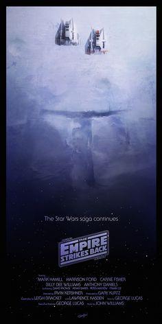 Andy Fairhurst Star Wars Trilogy Art
