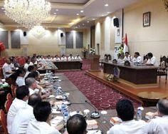 Gelar Rapat Kerja Perdana, Dondokambey Ajak Pejabat Nikmati Semua Pekerjaan