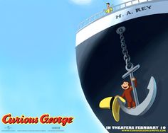 Watch Streaming HD Curious George, starring Will Ferrell, Drew Barrymore, Eugene Levy, Frank Welker. Will Ferrell stars as The Man in the Yellow Hat, a gentleman who looks after his pet monkey - an inquisitive and wonderful creature whose enthusiasm often gets the best of him. #Animation #Adventure #Comedy #Family http://play.theatrr.com/play.php?movie=0381971