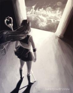 Fall of the Silver Millenium by TwinklePowderySnow on DeviantArt Sailor Pluto, Sailor Neptune, Arte Sailor Moon, Sailor Moon Manga, Neo Queen Serenity, Princess Serenity, Sailor Moon Personajes, Sailor Moon Character, First Animation