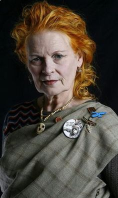 Westwood: Her life and career so far - in pictures Dame Vivienne Westwood, here photographed in her studio in London in she is an amazing Crone.Dame Vivienne Westwood, here photographed in her studio in London in she is an amazing Crone. Vivienne Westwood, Mode Ab 50, Gender Bender, Advanced Style, Ageless Beauty, Great Women, Aging Gracefully, Old Women, Young Women