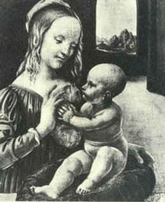 Madonna With The Cat -- Noya Collection, Savona