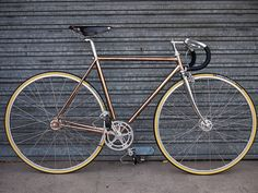 arnaud copper complete steel bike by bikingthings, via Flickr