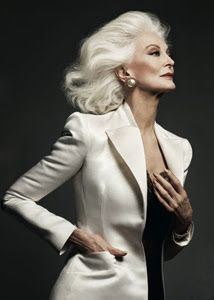 Top model at 83 years old. Fabulous! (Top Model Inspiration)