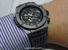 Hublot - Hands on review of the Hublot Big Bang Unico Italia Independent
