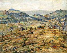 Ernest Lawson - City Suburbs  1914