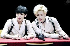 Hyungwon and Wonho