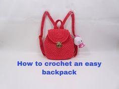 Crochet Tablecloth Pattern, Phan, Saddle Bags, Tutorial Crochet, Backpacks, Hobby, Crochet Bags, Handmade, Crochet Table Runner