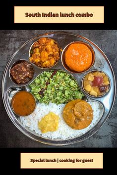 Best Indian Recipes, Ethnic Recipes, Modern Food, South Indian Food, Pressure Cooker Recipes, One Pot Meals, Palak Paneer, Sweet Recipes, Lunch