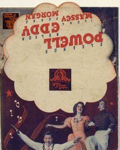 244.  Rosalie. Dirigida por W. S. Van Dyke. 1939.  #ProgramasdeMano #BbtkULL #Musicales #DiadelLibro2014