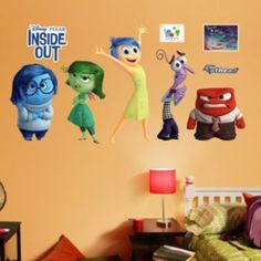 Disney / Pixar Inside Out Wall Decal by Fathead