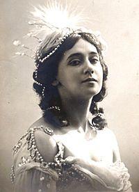 Tamara Karsavina.