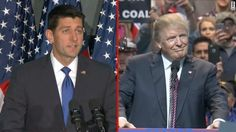 House Speaker Paul Ryan told fellow Republicans Monday he will no longer defend GOP nominee Donald Trump and will instead use the next 29 days to focus on preserving his party's hold on Congress.