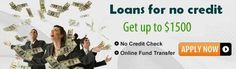 Loans for no credit - Fruitful monetary support for bad creditors