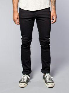 Tube Tom Black Black - Nudie Jeans Online Shop