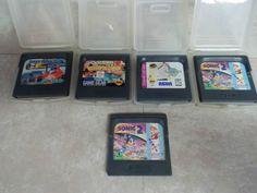 Sega Game Gear Vintage Lot of 5 Games Sonic & More
