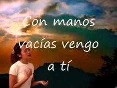 Con manos vacías Jesús Adrián Romero Jesus Adrian Romero, Youtube, Movie Posters, Movies, Cook, Christians, Dios, Recipes, Films
