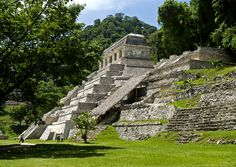 Palenque was a Maya city state in southern Mexico that flourished in the 7th century