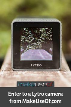 Enter to win a Lytro camera from MakeUseOf.com!