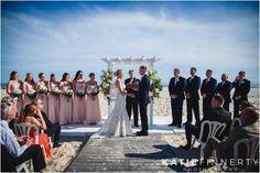 Long Island Beach Wedding Ceremony. Photos by Rochester, NY wedding photographer Katie Finnerty Photography   http://www.katiefinnertyphotography.com/blog/2015.6.19.ocean-club-wedding-long-island-kelly-garrett