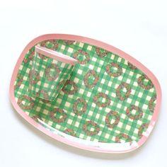 軽くて使いやすい北欧のおしゃれなメラミンのトレイ/riceメラミントレイヴィシー