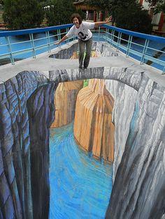 Grand Canyon - 3d Streetpainting Street Art