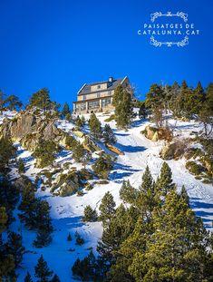 Refugi d'Ulldeter, Pirineu de Girona #Vallter2000 #pyreness #winter #snow #mountain #pirineo #catalonia #catalunya #barcelona #sky #Girona #landscape Land Scape, Mount Everest, Activities, Mountains, Mansions, House Styles, Water, Travel, Outdoor