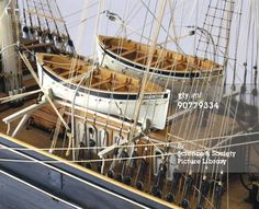 {My love for tall ships must surely have begun when I was little & my Dad built a 3' tall sailing ship model. I remember all the knots he had to tie...I stared at the 'riggings' for hours.}