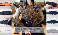 Tutorial by Cowbuttcrunchies Cosplay For Tsukki's Legend of Karasuno cosplay, I decided to go with a heavy crow motif, and what better way to do that than covering myself in feather armor? I ended …