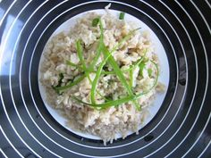 Sesame ginger Brown rice recipe