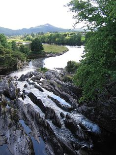 the river Sneem ... Co. Kerry, Ireland
