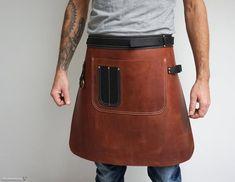 Barista, Shop Apron, Men's Apron, Grill Apron, Work Aprons, Personalized Aprons, Leather Suspenders, Leather Apron, Aprons For Men