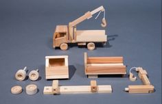 Wooden Mobile Crane Project | Woodworking Session